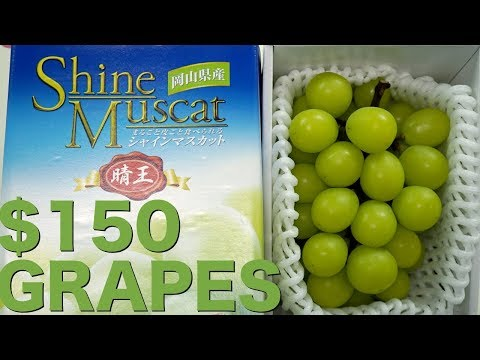 What do $150 Grapes Taste Like?
