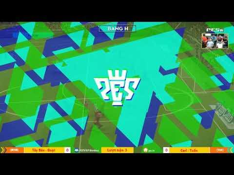 PES League 2v2 | [MYM] Wawa + Tây Báo vs Carl + Tuấn 23-12-2017
