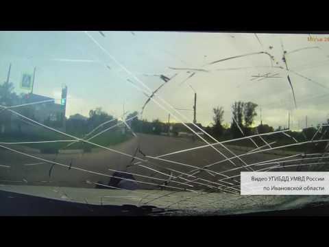 Авария с велосипедистом в Иванове