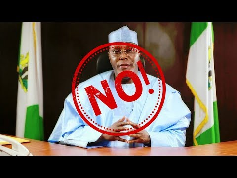 12 Reasons Why Atiku Cannot Be Nigeria's President