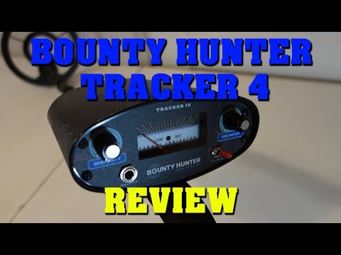 Metal Detecting:  Bounty Hunter Tracker 4 - Unboxing and Review