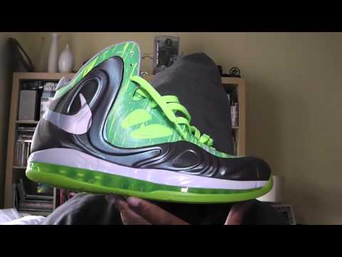 0 Nike Air Max Hyperposite   Grey/Green Tournament of Champions PE