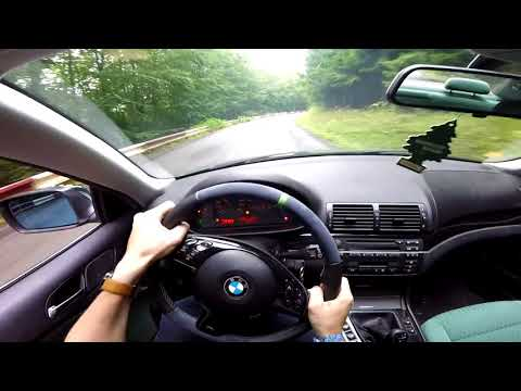 BMW 323Ci E46 - POV DRIVING SOUND (DECATTED)