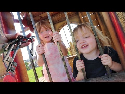 Trapped inside PiRATE PRiSON!!  can Adley & Niko escape the ship and play with water balloon babies?
