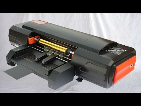 Digital hot stamping machinery foilcraft gold bronzing printer equipment 無版燙金機使用教程