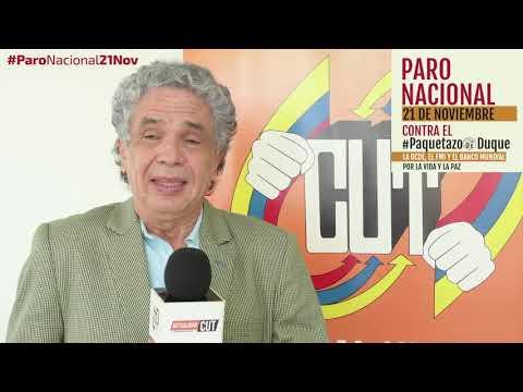 Winston Petro invita al #ParoNacional21N