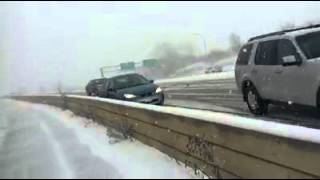 Terrifying Footage Of A 61-Car Pileup On Minnesota's Highway