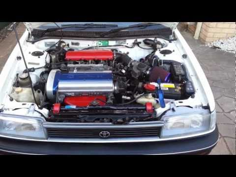 AE94 Toyota Corolla 4AGE 20V Silvertop - Engine clicking sound
