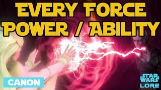 Video Every Force Power & Ability (Canon) - Star Wars Lore MP3, 3GP, MP4, WEBM, AVI, FLV Juni 2018