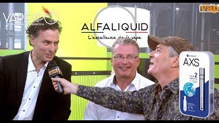 GAIATREND-ALFALIQUID : La grande marque française a développée l'AXS