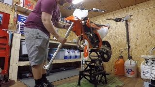 4. 2018 Ktm 85 Front Fork Removal and Install