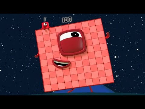 Numberblocks 100, 60, 70, 80, 90!!! 5 New Numberblocks Episodes!!! Learn to count!