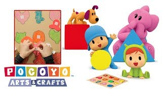 Pocoyo português Brasil - Pocoyo Arts & Crafts: Jogo de formas e cores