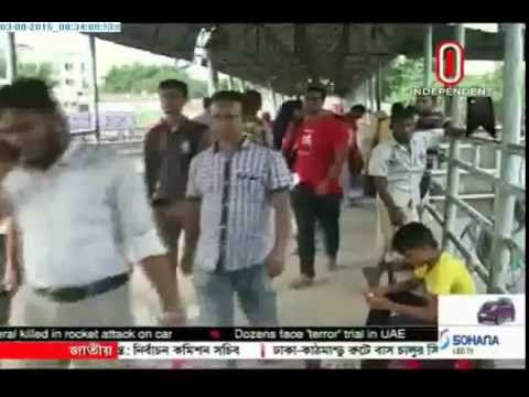 Jaywalkers reluctant to use foot-over bridges (03-08-2015)
