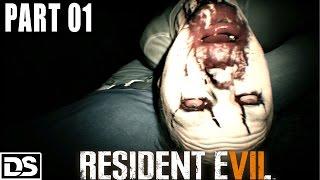 Resident Evil 7 Gameplay German Part 1 - So ein Drecksloch - Let's Play Resident Evil 7 Deutsch