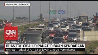 Video Ruas Tol Cipali Dipadati Ribuan Kendaraan | Go Mudik 2018 MP3, 3GP, MP4, WEBM, AVI, FLV Oktober 2018