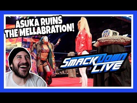 Reaction   ASUKA RUINS CARMELLAS ROYAL MELLABRATION!   WWE Smackdown Live London May 15, 2018