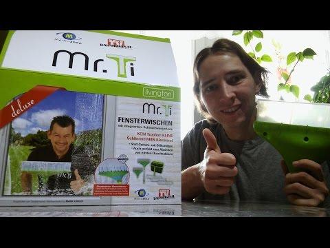 DIY , Mr. Ti  Fensterwischer von Mediashop