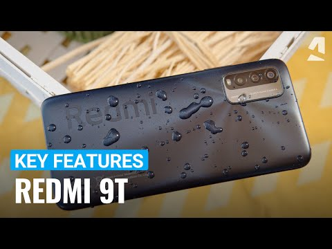 Xiaomi Redmi 9T hands-on and key features