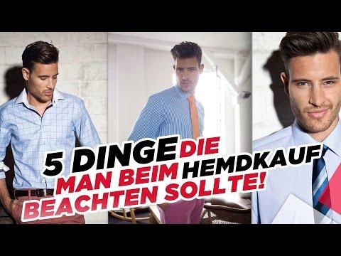 5 Dinge die man beim Hemdkauf beachten sollte - Styling Tipps für Männer