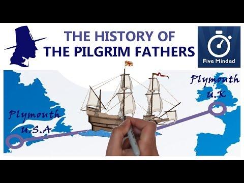 The History of Pilgrims, Mayflower, Thanksgiving Animated Guide