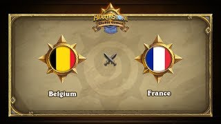 FRA vs BEL, game 1