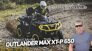 2. CAN-AM OUTLANDER MAX XT-P 650 | TEST QUAD 2018