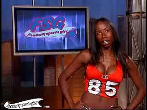 Fantasy Sports Girl Promo - AOL