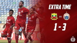SHAN UNITED 1 - 3 PERSIJA JAKARTA [AFC Cup 2019] | Extra Time