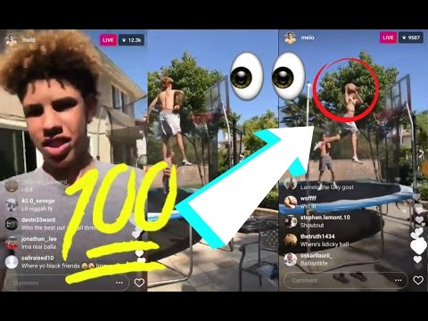 LaMelo Ball Does 720 DUNK And BACKFLIP DUNK?! (видео)