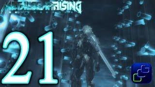 Metal Gear Rising: Revengeance Walkthrough - Part 21 - Chapter File R-04: Hostile Takeover