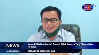 Ketua DPRD Nias Bantah Somasi Tak Percaya Terhadap Dirinya  (HARIANSIBER TV)