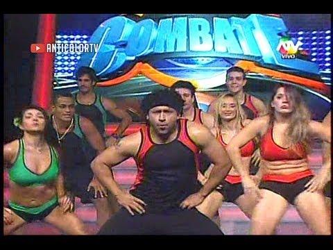COMBATE Nueva Cancion y Coreografia - Vale Band Estatua 13/08/13