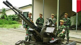 Video Made in China: 4 prajurit TNI AD gugur saat latihan tembak menggunakan meriam buatan Cina - Tom MP3, 3GP, MP4, WEBM, AVI, FLV Mei 2017