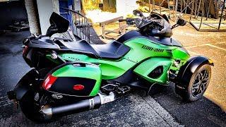 8. Super Cool Spyder RS-S!! • A 96º Test Ride On It! | TheSmoaks Vlog_970