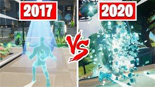 The brand NEW Fortnite Death animation... (2017 vs 2020)