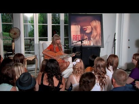 (Acoustic) - Taylor performs acoustic versions of three songs from her RED album. Recorded live in front of her fans in Nashville, TN. Songs include 