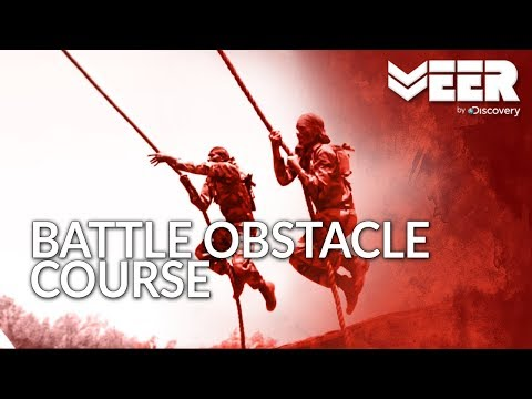 Indian Commando Training | Deadly Battle Obstacle Course at Commando School | Veer by Discovery