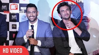 Video M.S. Dhoni Trolls Sushant Singh Rajput | Very Funny | M.S. Dhoni: The Untold Story Trailer Launch MP3, 3GP, MP4, WEBM, AVI, FLV Juni 2017