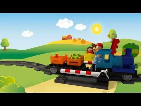 Конструктор Локомотив - LEGO DUPLO - фото № 4