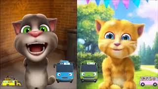 Kartun Anak Indonesia - Lagu Tayo si Bis Kecil (Tom dan Ginger)