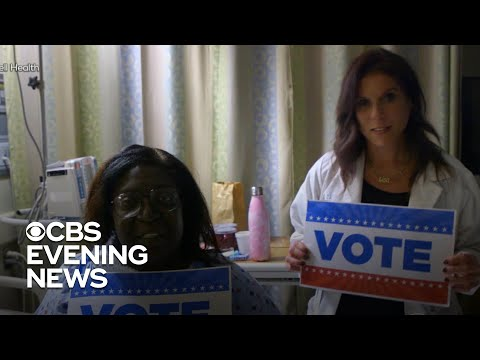 NYC nurses start initiative that helps hospitalized patients vote