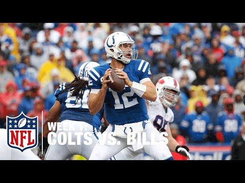 Andrew Luck Connects with WR Donte Moncrief for TD | Colts vs. Bills | NFL
