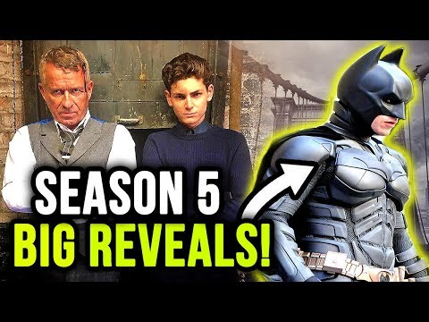 New REVEALS You NEED To Know About Gotham Season 5!