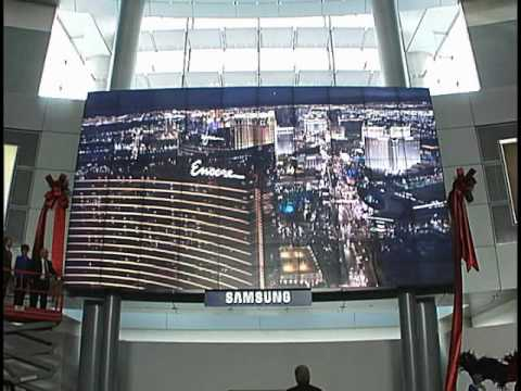 627-Square-Foot Video Wall Now on Display at McCarran International Airport