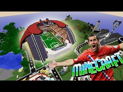 #47 Стадион в minecraft!!!