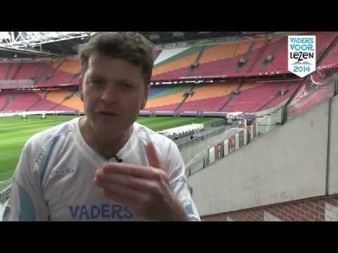 Vaders Voor Lezen-elftal: Beau van Erven Dorens