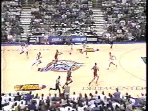 "Michael Jordan ""Flu Game"" & Still Hits 38pts! - Bulls vs. Jazz 1997 Finals"