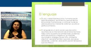 UTPL EL LENGUAJE [(CCEE - EDUCACIÓN INFANTIL)(APRENDIZAJE Y DESARROLLO DEL LENGUAJE)]