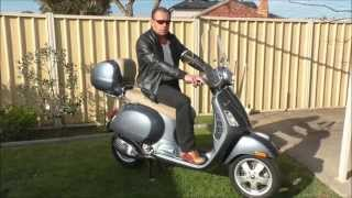 8. Vespa GTS 250 FL / 300 FL full review 2016